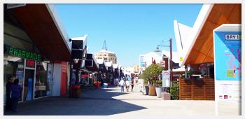 AIVB : le Centre Bay 1, son cinéma et ses commerces
