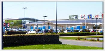 AIVB : le Centre Commerciale BAY 2 de Collégien proche de Bussy