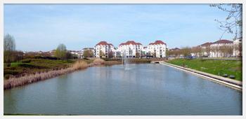 AIVB : vue sur le lac de Bussy St Georges