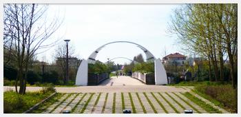 AIVB : le nouveau pont du lac de Bussy Saint Georges