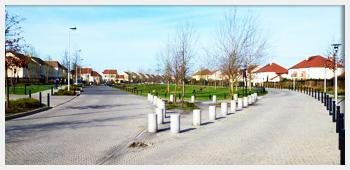 AIVB : vue des rues d'un quartier pavillonnaire de Bussy Saint Georges