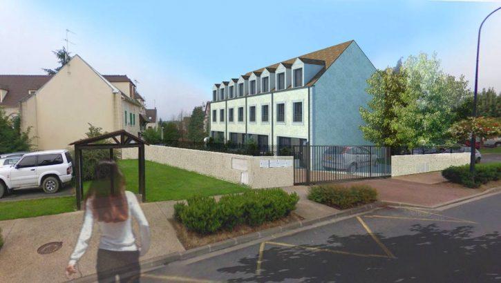 Pavillon 4 pièces, Pontcarre